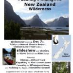 Siskiyou Land Trust presentation on traveling in New Zealand