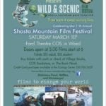Shasta Mountain Film Festival This Saturday Evening…