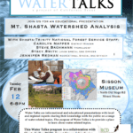 Mount Shasta Water Talk on Watershed Analysis February 12, 2013