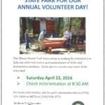Earth Day Volunteer Opportunity at Castle Crags SP — Saturday April 23, 2016