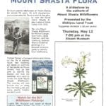 Ed Stuhl and His Mount Shasta Flora — Thursday May 12, 2016 — Sisson Museum