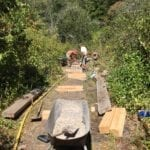 Greenway Boardwalk Installed in Time for September 10th Picnic in the Park