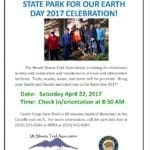 Annual Earth Day Work Event at Castle Crags — Saturday April 22, 2017