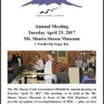 Annual Meeting — Only A Few Days Away!