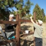 More Photos of Siskiyou Land Trust Garden Fence Construction