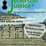 Enjoy Music by Jefferson Justice & Support Trails — May 5, 2018