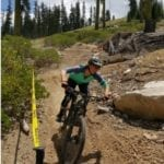 MOUNTAIN BIKING AT THE MT. SHASTA SKI PARK