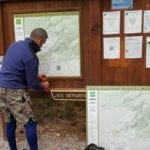 NEW, ACCURATE MAP AT GATEWAY TRAILHEAD
