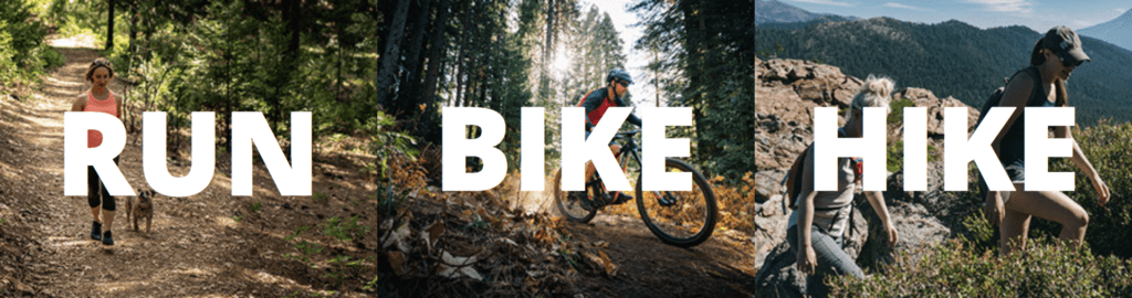 Run, Bike, Hike
